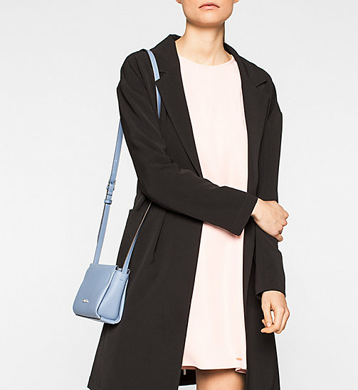Mini Crossover-Bag - CASHMERE BLUE - CALVIN KLEIN  - main image 1
