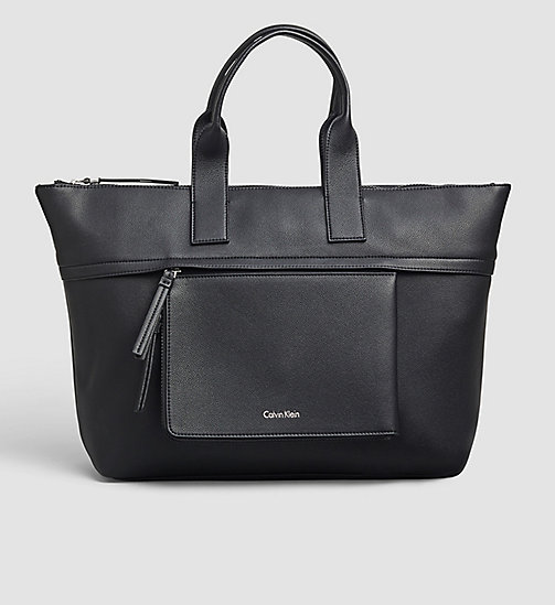 Large Tote Bag - BLACK - CALVIN KLEIN  - main image
