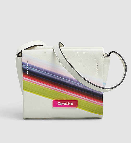 CALVINKLEIN Printed Mini Crossover - POWDER WHITE - CALVIN KLEIN BAGS - main image