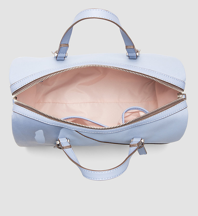 CALVINKLEIN Printed Duffle Bag - CASHMERE BLUE - CALVIN KLEIN SHOES & ACCESSORIES - detail image 2