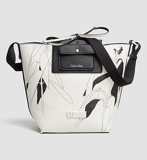 CALVINKLEIN Reversible Bucket Bag - BLACK - CALVIN KLEIN HOBO BAGS - detail image 1
