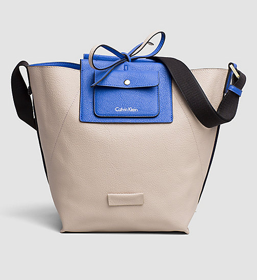 Reversible Bucket Bag - DAZZLING BLUE - CALVIN KLEIN  - detail image 1