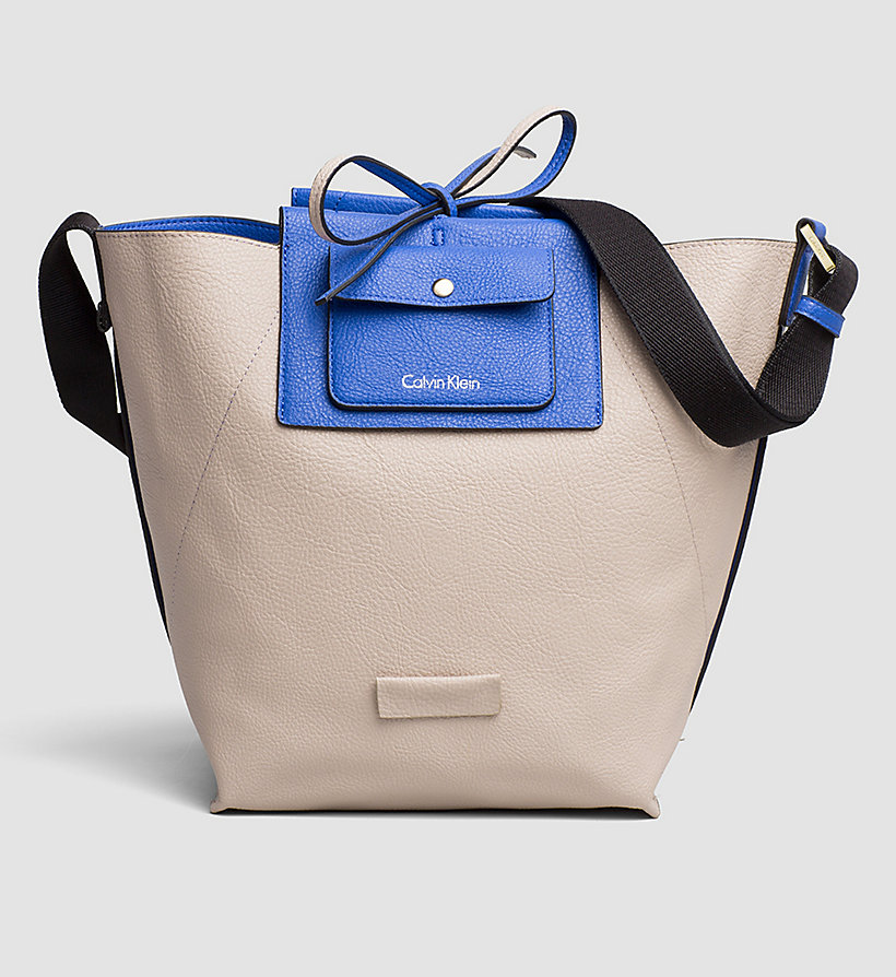 CALVINKLEIN Reversible Bucket Bag - DAZZLING BLUE - CALVIN KLEIN SHOES & ACCESSORIES - detail image 1