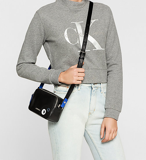 Micro Crossover-Bag - BLACK - CALVIN KLEIN  - main image 1