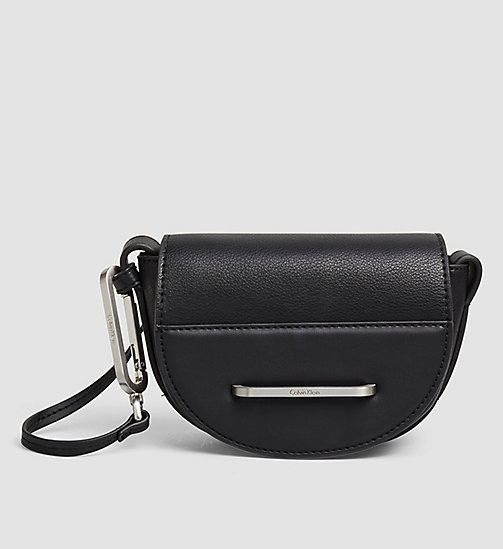 Mini Halbmond Crossover-Bag - BLACK - CALVIN KLEIN  - main image