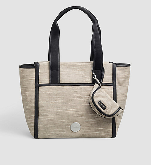 Canvas tote bag - MUSHROOM - CALVIN KLEIN  - main image