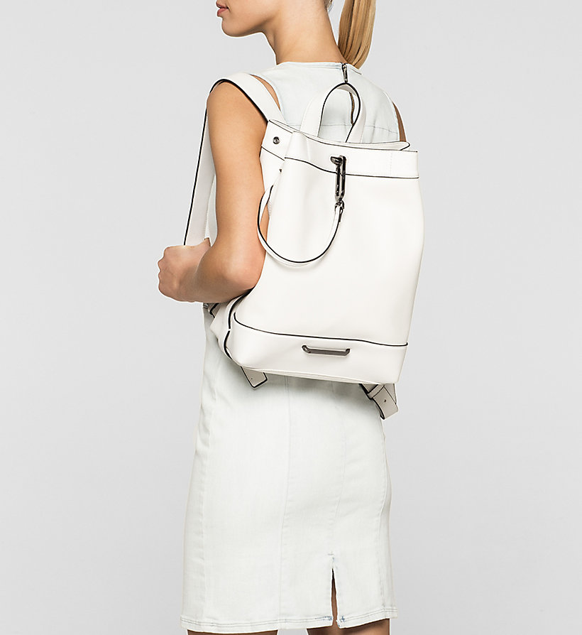 CALVINKLEIN Backpack - POWDER WHITE - CALVIN KLEIN SHOES & ACCESSORIES - detail image 1
