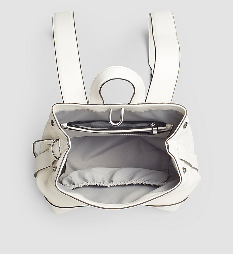 CALVINKLEIN Backpack - POWDER WHITE - CALVIN KLEIN SHOES & ACCESSORIES - detail image 2