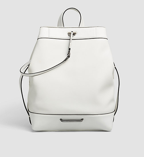 CALVINKLEIN Backpack - POWDER WHITE - CALVIN KLEIN BACKPACKS - main image