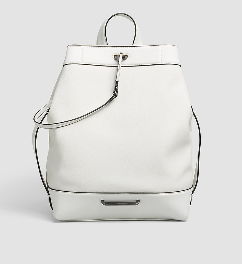 CALVINKLEIN Backpack - POWDER WHITE - CALVIN KLEIN SHOES & ACCESSORIES - main image