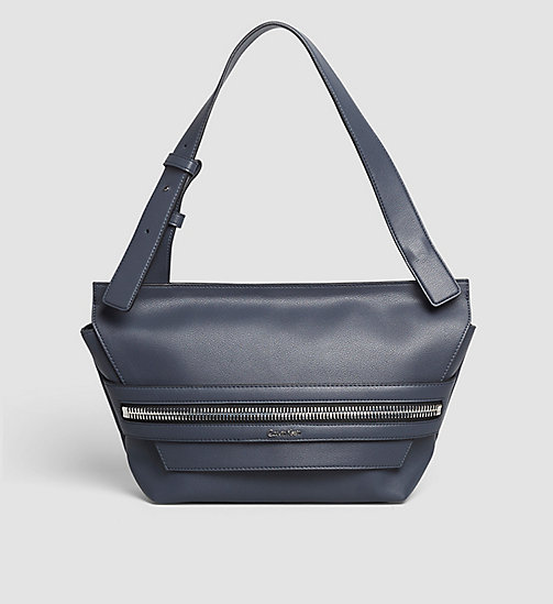 Medium Satchel - OMBRE BLUE - CALVIN KLEIN  - main image