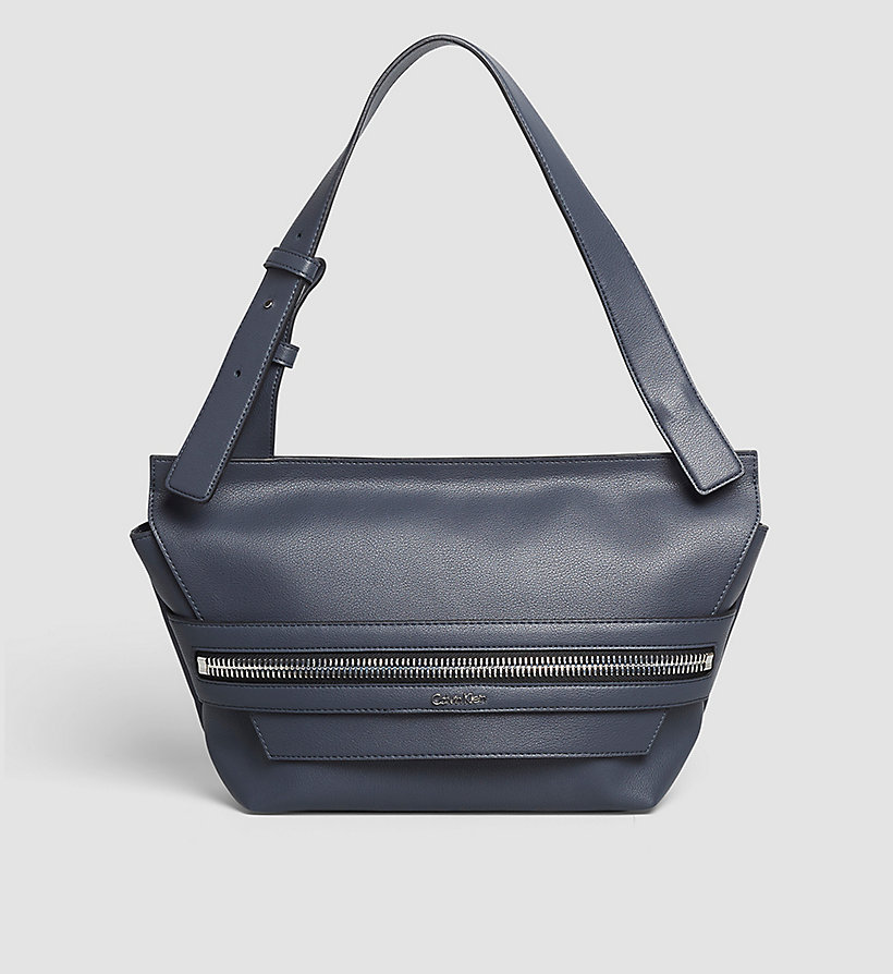 CALVINKLEIN Medium Satchel - BLACK - CALVIN KLEIN SHOES & ACCESSORIES - main image