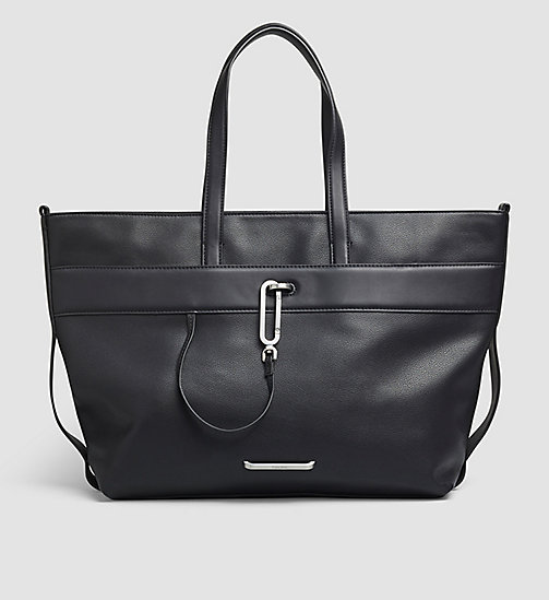 Tote Bag - BLACK - CALVIN KLEIN SHOES & ACCESSORIES - main image