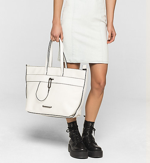 Tote Bag - POWDER WHITE - CALVIN KLEIN SHOES & ACCESSORIES - detail image 1