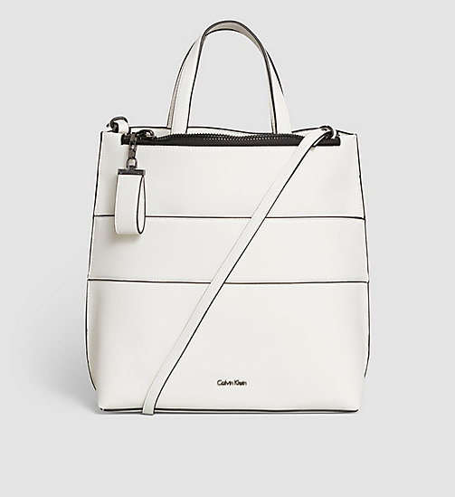 Tote Bag - POWDER WHITE - CALVIN KLEIN SHOES & ACCESSORIES - main image