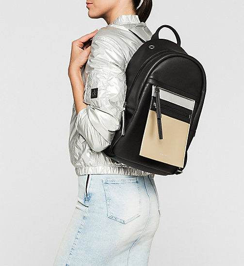 CKJEANS Backpack - BLACK - CALVIN KLEIN SHOES & ACCESSORIES - detail image 1