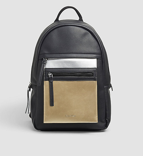 CKJEANS Backpack - BLACK - CALVIN KLEIN SHOES & ACCESSORIES - main image