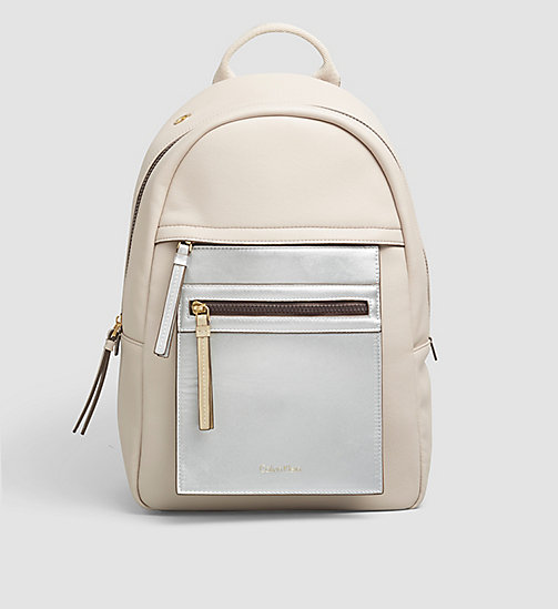 CALVINKLEIN Backpack - MUSHROOM - CALVIN KLEIN BACKPACKS - main image