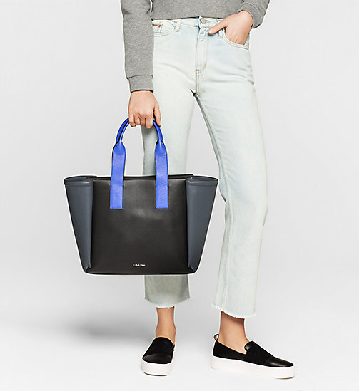 Large Tote Bag - BLACK - CALVIN KLEIN SHOES & ACCESSORIES - detail image 1