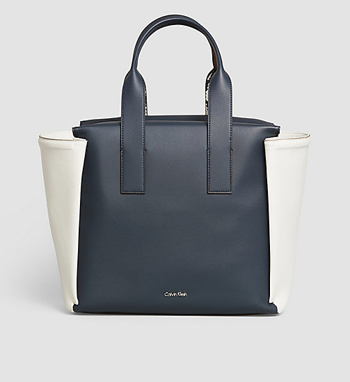 Large Tote Bag - OMBRE BLUE - CALVIN KLEIN SHOES & ACCESSORIES - main image