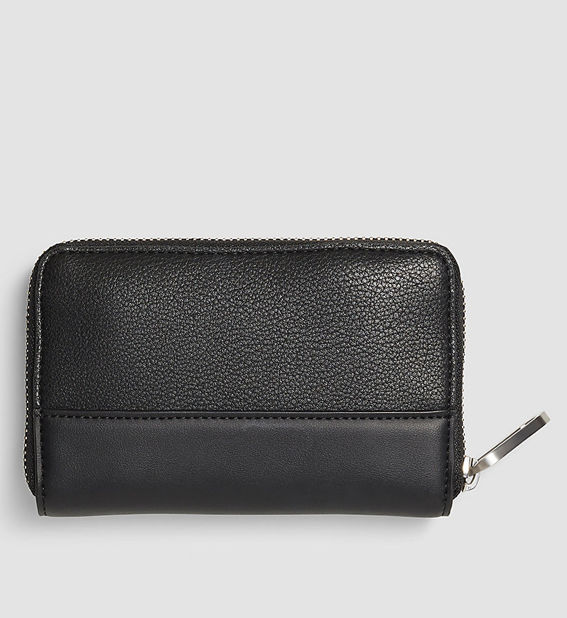 CALVINKLEIN Medium Ziparound Wallet - BLACK - CALVIN KLEIN SHOES & ACCESSORIES - detail image 2
