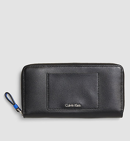 CALVIN KLEIN Large Leather Ziparound Wallet K60K602548001