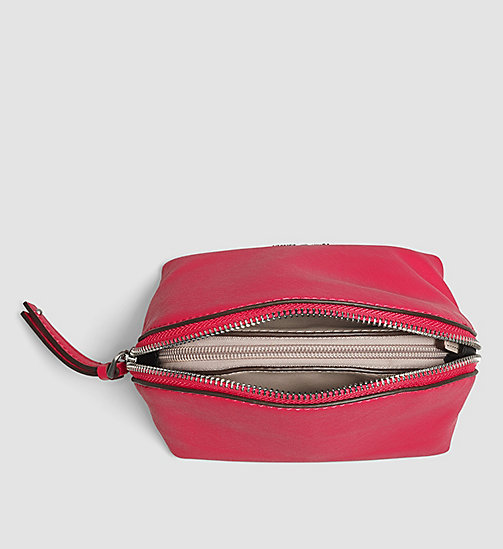 CALVINKLEIN 3-in-1 Make-Up Bag - BRIGHT ROSE - CALVIN KLEIN  - detail image 1