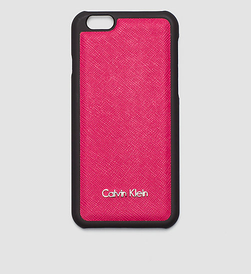 CALVINKLEIN iPhone 6s Cover - BRIGHT ROSE - CALVIN KLEIN  - main image