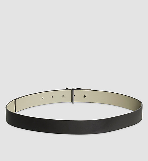 CALVINKLEIN Reversible Leather Belt Gift Box - BLACK/STONE - CALVIN KLEIN BELTS - detail image 1