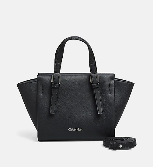 CALVINKLEIN Mini-Tote-Bag - BLACK - CALVIN KLEIN CARRIED AWAY - main image