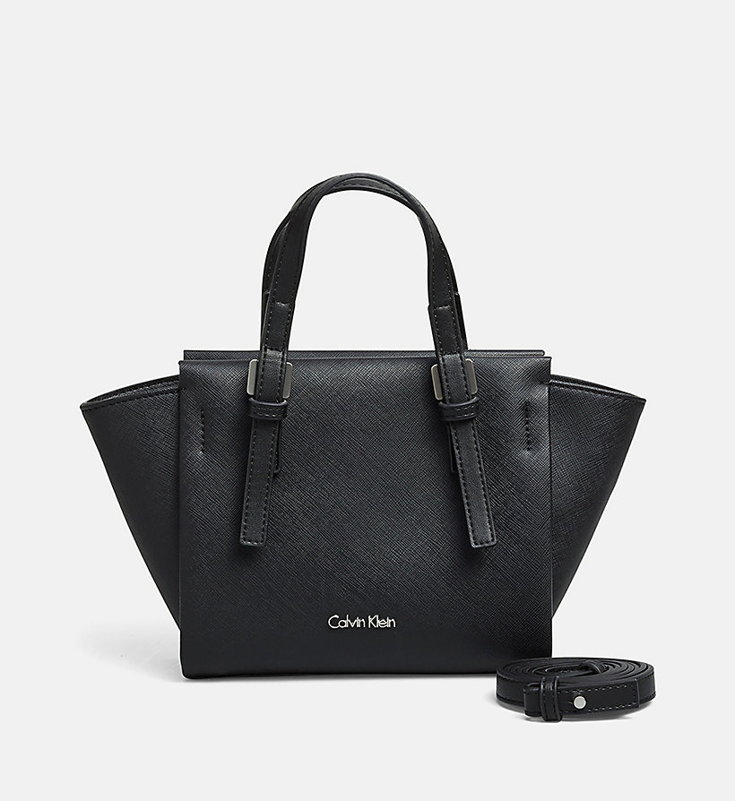 CALVINKLEIN Mini Tote Bag - BLACK - CALVIN KLEIN SHOES & ACCESSORIES - main image
