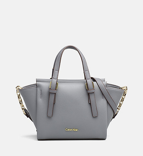 CALVINKLEIN Mini tote bag - STEEL GREY - CALVIN KLEIN CARRIED AWAY - main image