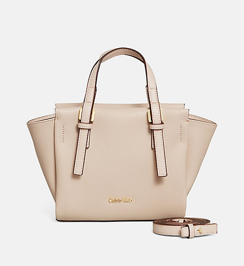 CALVINKLEIN Mini Tote Bag - MUSHROOM - CALVIN KLEIN VIP SALE Women DE - main image