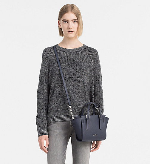 Mini-Tote-Bag - BLUE NIGHT - CALVIN KLEIN  - main image 1