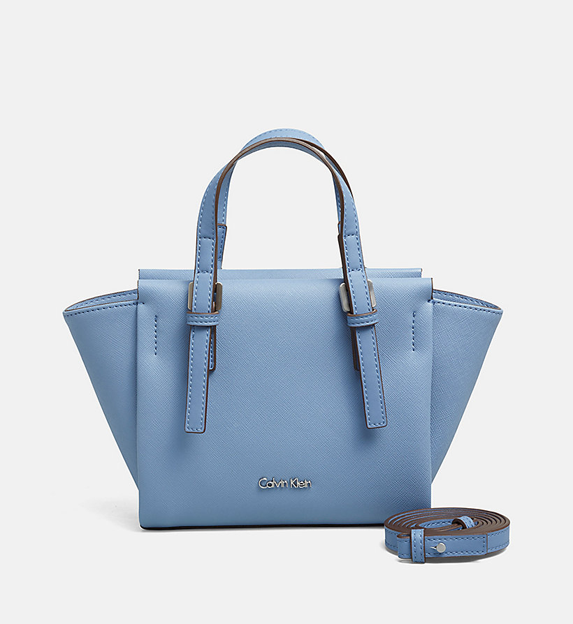 CALVINKLEIN Mini Tote Bag - CASHMERE BLUE - CALVIN KLEIN SHOES & ACCESSORIES - main image