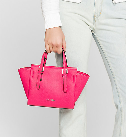 CALVINKLEIN Mini Tote Bag - BRIGHT ROSE - CALVIN KLEIN BAGS - detail image 1