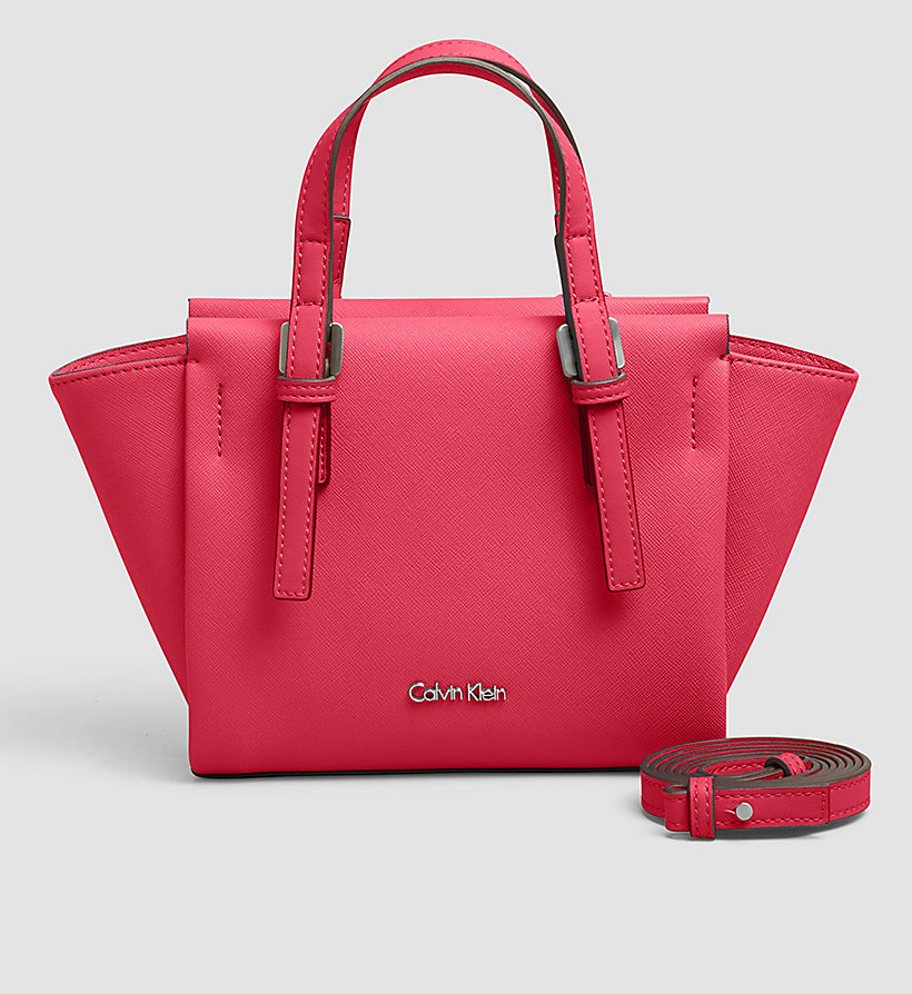 CALVINKLEIN Mini Tote Bag - BRIGHT ROSE - CALVIN KLEIN SHOES & ACCESSORIES - main image