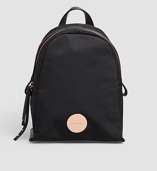 CALVINKLEIN Mini Backpack - BLACK - CALVIN KLEIN BACKPACKS - main image