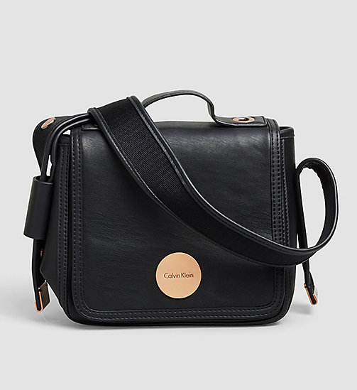 CALVINKLEIN Flap Crossover - BLACK - CALVIN KLEIN CROSSOVER BAGS - main image
