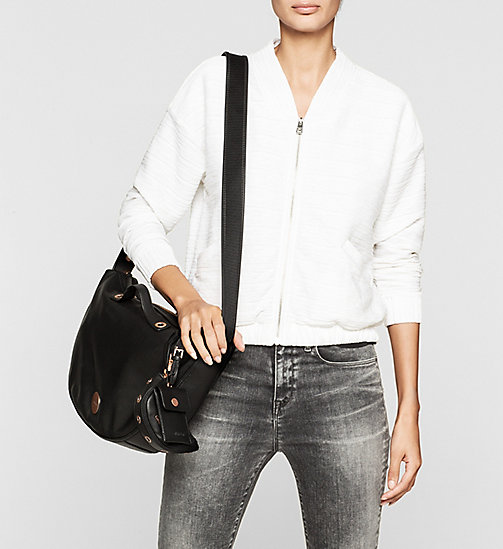 Halbmond Crossover-Bag - BLACK - CALVIN KLEIN  - main image 1