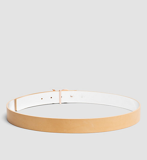 Reversible Leather Belt in Gift Box - VACCHETTA - CALVIN KLEIN  - detail image 1