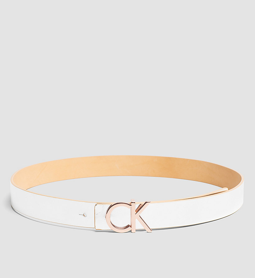 CALVINKLEIN Reversible Leather Belt in Gift Box - VACCHETTA - CALVIN KLEIN SHOES & ACCESSORIES - detail image 2