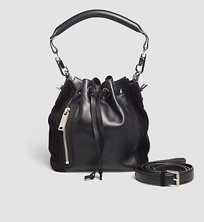 CALVIN KLEIN Leather Bucket Bag K60K602678001