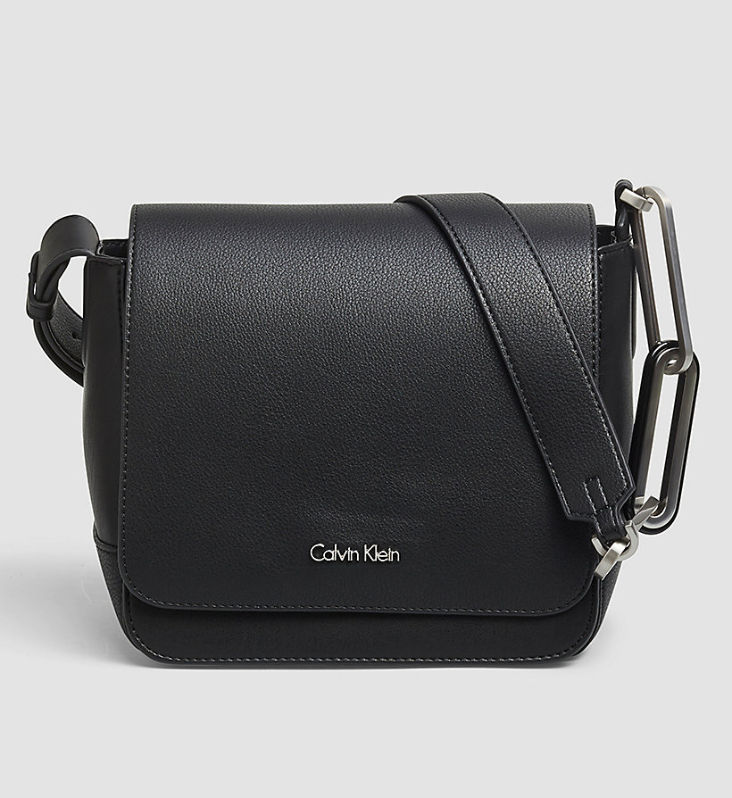 CALVINKLEIN Flap Crossover - BLACK - CALVIN KLEIN SHOES & ACCESSORIES - main image