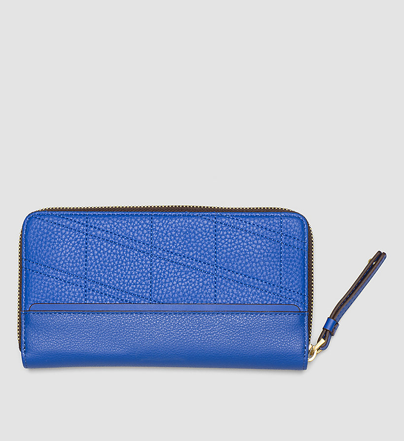 CALVINKLEIN Large Ziparound Wallet - DAZZLING BLUE - CALVIN KLEIN SHOES & ACCESSORIES - detail image 2