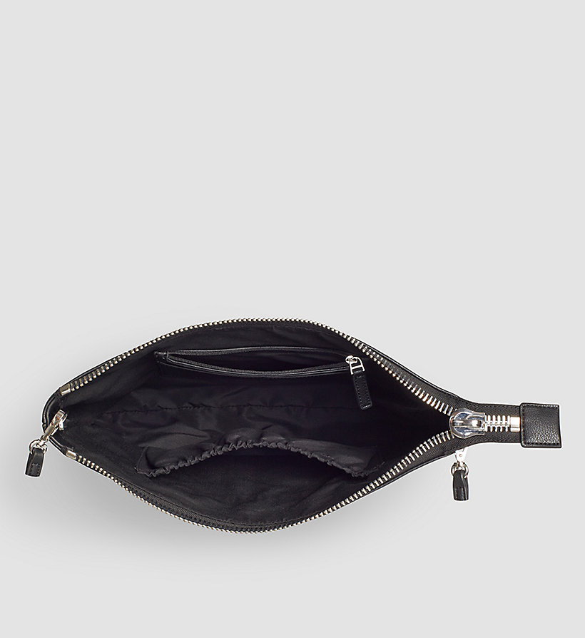 CALVINKLEIN Large Clutch - BLACK - CALVIN KLEIN SHOES & ACCESSORIES - detail image 2