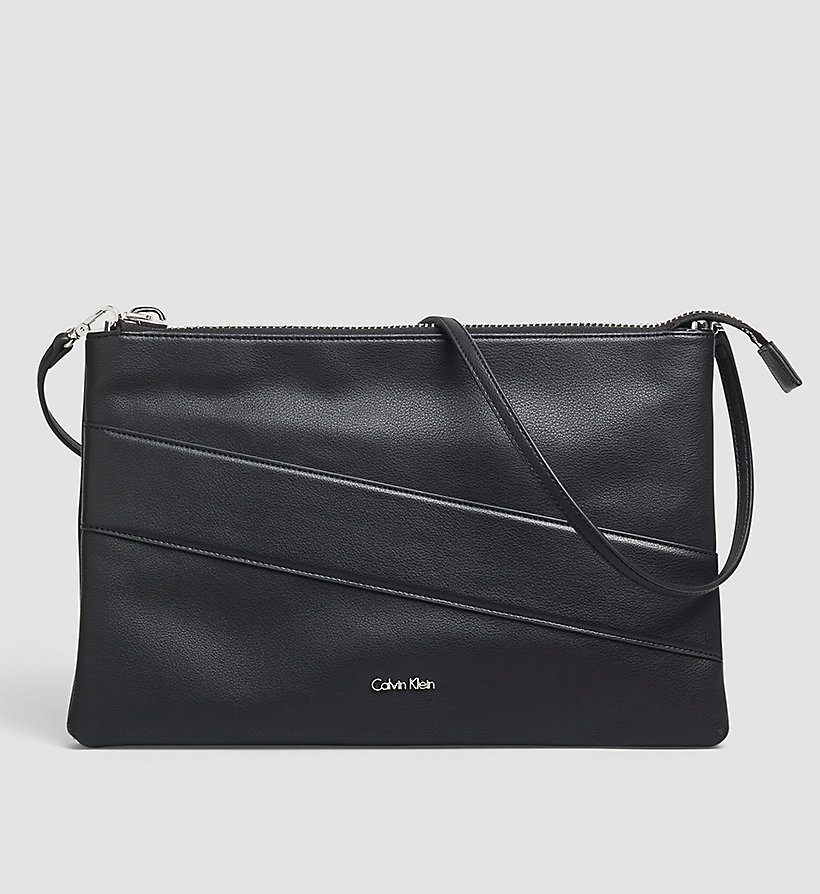 CALVINKLEIN Large Clutch - BLACK - CALVIN KLEIN SHOES & ACCESSORIES - main image