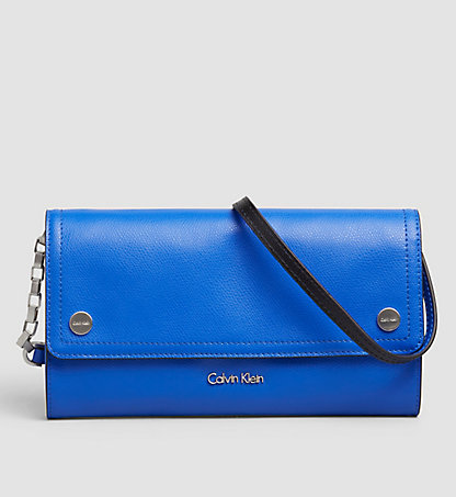 CALVIN KLEIN Leather Clutch K60K602719437
