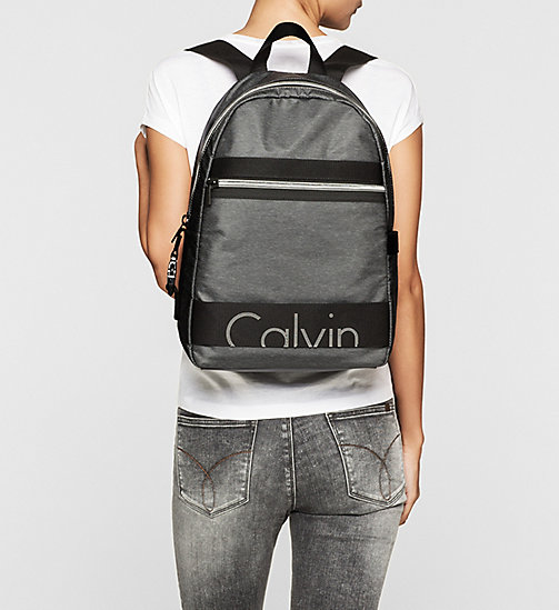 CKJEANS Backpack - DARK GREY - CK JEANS BAGS - detail image 1