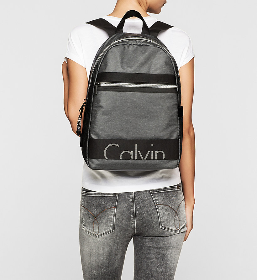 CKJEANS Backpack - DARK GREY - CK JEANS SHOES & ACCESSORIES - detail image 1